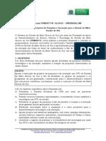 Chamada Fundect Nº 10-2015 - Universal