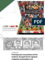 30 Participación Comunitaria de Las Mujeres El Papel de Los Agentes y Agentas Municipales Con Perspectiva de Género