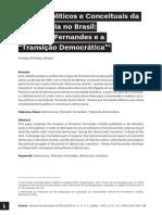 PORTELA JUNIOR, Aristeu. Limites Políticos e Conceituais Da Democracia No Brasil