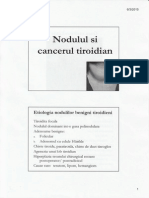 Curs 8. Nodulul Si Cancertul Tiroidian