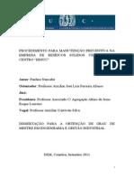 Dissertação, Paulino Nancabú