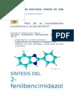 Informe de Laboratorio 2-Fenilbencimidazol