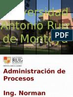 Adm Proc - Unidad 2 - Mapeo de Procesos
