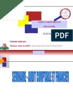 Séminaire audit et évaluation du controle interne-trées importat base de travail.ppt