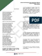 Língua Portuguesa CESPE
