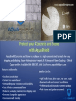 Protect Your Concrete and Stone With AquaShield