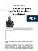 Manual Para Evadir Las Multas Electric As