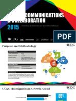 2015 IDG Enterprise Unified Communications & Collaboration Study