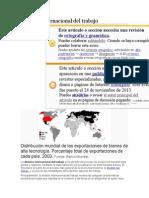 División Internacional Del Trabajo