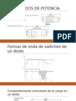 Diodos Transistores de Potencai