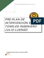 Plan Evacuación e intervención TUNEL Julio Luengo