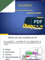 Presentacion de Calderas PRE 11 CLM6201