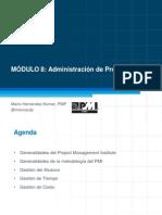 Modulo de Administración de Proyectos