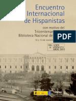 Encuentro Internacional de Hispanistas