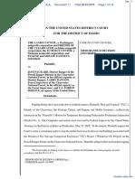 Lands Council, The et al v. Packard et al - Document No. 11