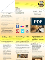 book club services brochure
