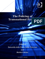 Donatella Della Porta, Abby Peterson, Herbert Reiter-The Policing of Transnational Protest-Ashgate Pub Co (2006)