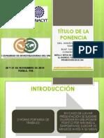 formato ponencia