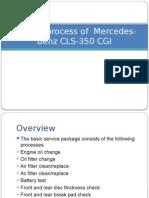 Service at Mercedes Benz, Pune