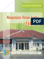 mangunjaya dalam angka 2014