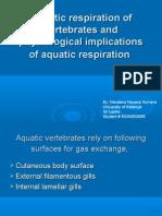 Aquatic Respiraton
