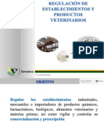 REGULACIÓN DE PRODUCTOS VETERINARIOS