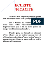 Securite Efficacite