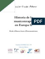 Historia de La Musicoterapia en Europa II - Desde El Barroco Hasta El Pre-romanticismo