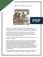 Apolineo Dionisicao en El Arte y La Historia