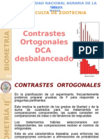 4.3. Contrastes Ortogonales DCAB