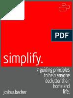 [Joshua Becker] Simplify(BookZZ.org)