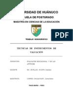 Trabajo Monografico Tecnicas e Instrumentos de Evaluacion