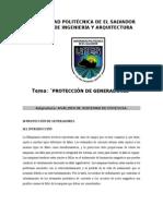 Proteccion de Generadores#1-2015