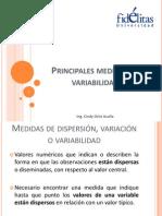 4. Principales Medidas de Variabilidad