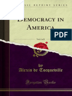Relation to Political Democracy in America
