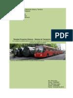 Sistema de Transporte de Curitiba Brasil