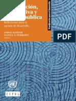 Prospectiva y Políticas públicas
