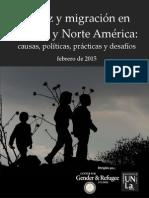 Niñez Migracion Derechos Humanos Español