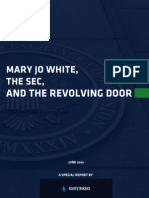 Rootstrikers - Mary Jo White the SEC and the Revolving Door Report