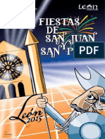 Programa de Fiestas León 2015