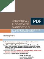 Hemoptizia- Algoritm de Dg Si Conduita in Urgenta