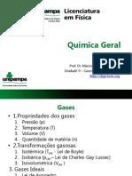 Unidade 9 - Gases e Termodinâmica