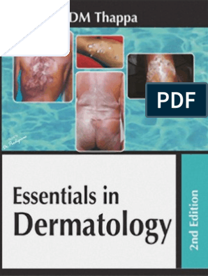 Dm Thappa Essentials In Dermatology 2nd Edition Epidermis Skin