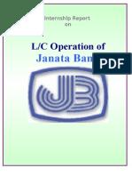 Janata Bank LC operation.doc