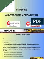 Maintenance & Repair Work