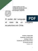 Ensayo Lingüística