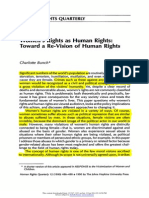 Women's Rights as Human Rights by Charlotte Bunch