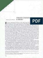 Toward Understanding E-Prime by Robert Anton Wilson