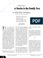 Buried in Our Stories is the Family Tree by Ingrid Rojas Contreras