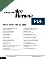 Poems by Alejandro Murguía